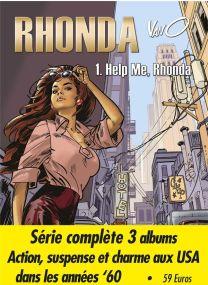 Rhonda ; INTEGRALE T.1 A T.3 - BD Must