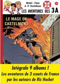 Les aventures des 3A ; INTEGRALE T.1 A T.9 - BD Must