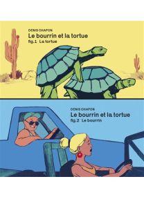 Le gros bourrin et la tortue : la tortue | Le gros bourrin et la tortue : le gros bourrin - FLBLB