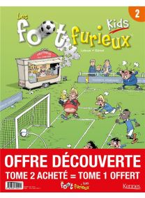 Les Foot Furieux kids T.2 - Kennes Editions
