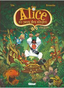 Alice au pays des Singes - Intégrale - Glénat