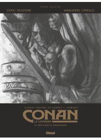 Conan le Cimmérien - Le dieu dans le sarcophage N&B - Glénat