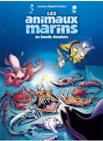Animaux marins en bd (les) - Tome 6 - Bamboo