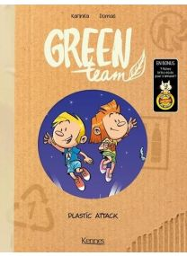 Green team T.2 ; plastic attack - Kennes Editions