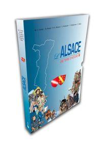 Coffret Alsace, Une Terre d'Histoire : Bas-Rhin + Haut-Rhin -