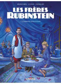 Les Frères Rubinstein T03 - Le Mariage Bensoussan - Delcourt