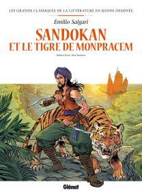 Sandokan en BD - Glénat