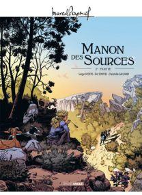 M. Pagnol en BD : Manon des sources - Tome 2 - Grand Angle