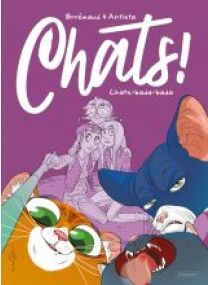CHATS - T2 - CHATS-BADA-BADA - Les éditions Paquet