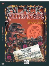 Black alligator -
