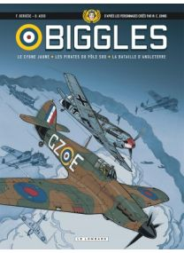 Biggles - Intégrales, Tome 1 : Biggles - Intégrale T1 - Le Lombard