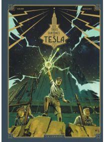 Les Trois fantômes de Tesla - Les Héritiers du rayon - Le Lombard