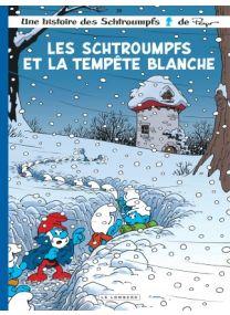 Les Schtroumpfs et la tempête blanche - Le Lombard