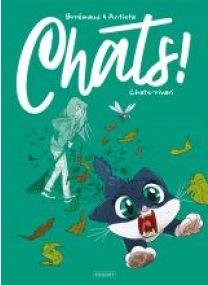 CHATS - TOME 3 - Les éditions Paquet