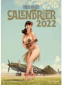 Calendrier Romain Hugault - Pin-up 2022 - Les éditions Paquet