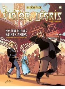 Les enquêtes de Victor Legris, libraire - Mystère rue des Saints Pères -