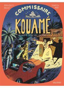 Un homme tombe avec son ombre - Commissaire Kouamé -
