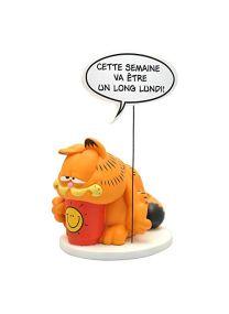 Plastoy- COLLECTOYS-Figurine RESINE Collection Bulles Garfield, PLA00240, Keine