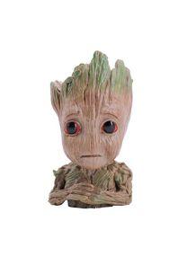 thematys Baby Groot Pot de Fleur - Figurine d'action pour Plantes et stylos du Film Classique - Parfait comme Cadeau - Je s'appelle BÉBÉ Groot (I)