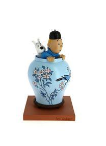 Tintin la potiche - collection Les Icônes Moulinsart