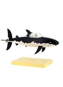 Moulinsart Figurine en résine Le sous-Marin Tiburon Collection Les icônes Adultes Unisexe Noir Taille Unique