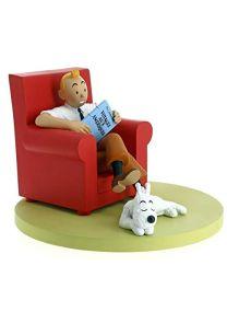 Moulinsart 46404 Tintin Canapé en résine Motif icônes Rouge Taille Unique