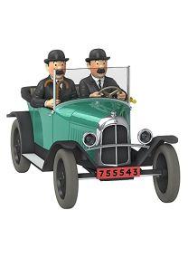 Moulinsart Voiture de Collection Tintin, la 5CV trèfle des Dupondt Nº27 1/24 (2020)
