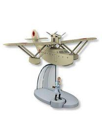 DataPrice Tintin 29558 – Hydroavion militaire de Jo, Zette & Jocko. L'Éruption du Karamako. Échelle 1:444