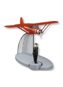Tintin 29562 – Avion rouge du professeur Halambique. Le cèdre d'Ottokar. Échelle 1:100.