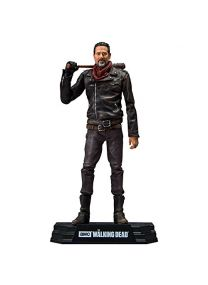 McFarlane- Negan Bloody Walking Dead TV Color Tops Figurine, 787926146790