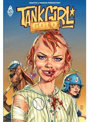 Tank Girl ; gold - Ankama