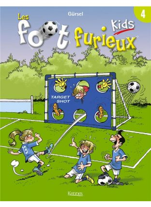 Les Foot Furieux kids T.4 - Kennes Editions