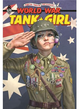 Tank Girl ; world war - Ankama