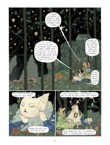BD Dans la forêt des lilas, planche 1