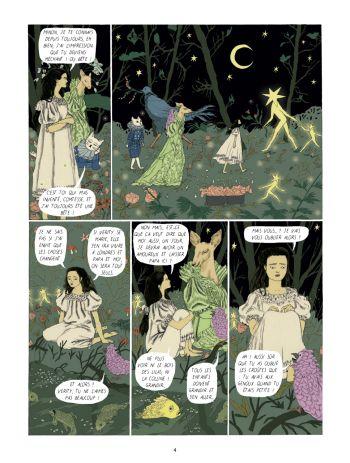 BD Dans la forêt des lilas, planche 2