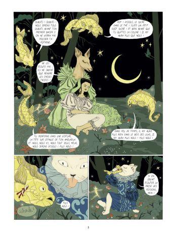 BD Dans la forêt des lilas, planche 3