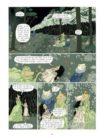 BD Dans la forêt des lilas, planche 4