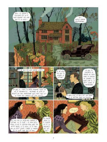 BD Dans la forêt des lilas, planche 5