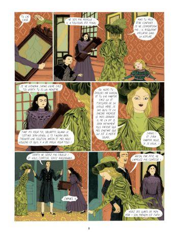 BD Dans la forêt des lilas, planche 6