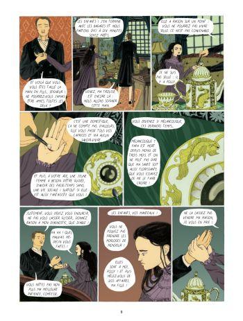 BD Dans la forêt des lilas, planche 7