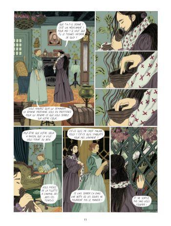 BD Dans la forêt des lilas, planche 9