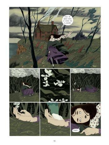 BD Dans la forêt des lilas, planche 10