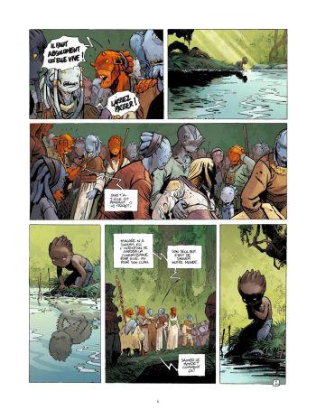 BD Le Grand Mort, T7 : Dernières migrations, planche 2