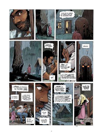 BD Le Grand Mort, T7 : Dernières migrations, planche 5