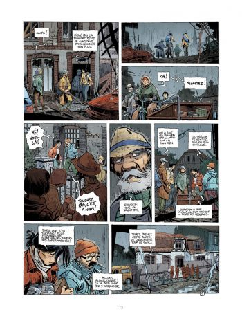 BD Le Grand Mort, T7 : Dernières migrations, planche 9