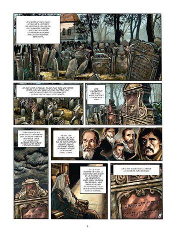 BD Le Kabbaliste de Prague, Tome 1 / 2, planche 2