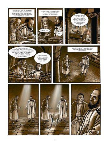 BD Le Kabbaliste de Prague, Tome 1 / 2, planche 4