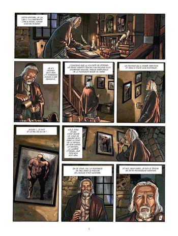 BD Le Kabbaliste de Prague, Tome 1 / 2, planche 5