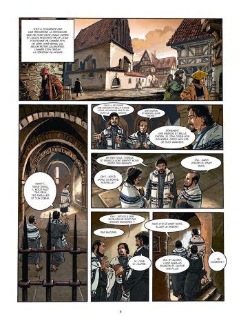 BD Le Kabbaliste de Prague, Tome 1 / 2, planche 6