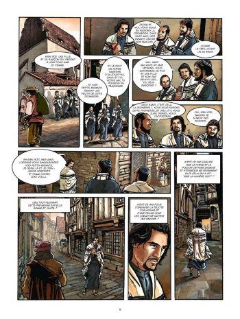 BD Le Kabbaliste de Prague, Tome 1 / 2, planche 7